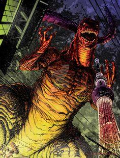 Hyper Japan Godzilla returns to the sea by WhippetWild on DeviantArt