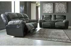 Earhart Manual Reclining Sofa | Ashley Furniture HomeStore Ashley Furniture Sofas, Cheap Furniture, Living Room Furniture, Furniture Nyc, Furniture Stores, Living Room Essentials, Living Room Sets, Living Room Chairs, Loveseat Sofa