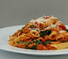 Spicy Sausage Meat Pasta - The Resourceful Cook