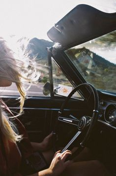 Her Heart Belonged to the Road…
