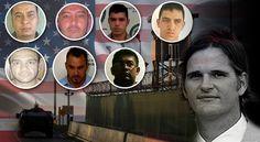 Con un pie en EE. UU. taxistas que mataron agente de la DEA. En los próximos días serán extraditados los siete implicados en el homicidio de James Terry Watson.