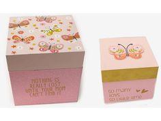S-Δημιουργείν | Θέμα Πεταλούδας - Ξύλινος Κύβος Πεταλούδα Σετ 2τμχ - 0621212 Container, Canning, Home Canning, Conservation