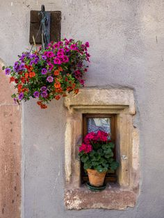 Simple Beauty in Hunwihr. Alsace, France