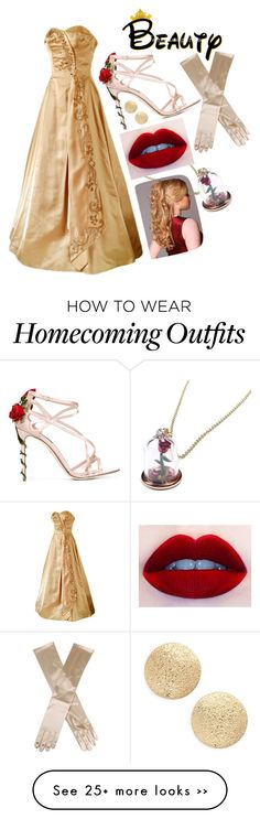 """""""Belle from Beauty and the Beast"""" by dancethroughtheuniverse on Polyvore"""