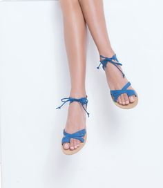 Our handcrafted luxury Greek sandals are made of exceptional quality leather, meticulously designed, using traditional techniques passed down from generation to generation for centuries. In Greece, we make leather sandals for thousands of years. Greek Sandals, Blue Sandals, Gladiator Sandals, Leather Sandals Flat, Ancient Greece, Olympians, Summer Outfit, Shoes Women, Mythology