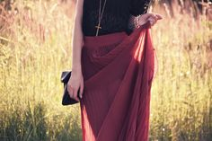Trend: maxi skirt http://blog.trendbook.cz/profile/show/Lorietta
