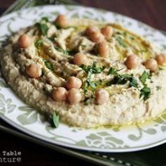 Recipe: Quick Lemon-Garlic Hummus