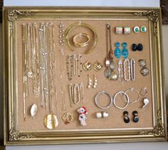 Use 1 X 1's to create a cork board with depth, hinge plexiglass with seal. Keep air from costume jewelry.