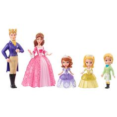 "Disney Sofia The First - Sofia and Royal Family - Mattel - Toys ""R"" Us"