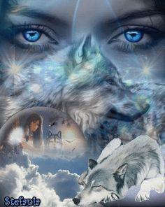 mujeres y lobos