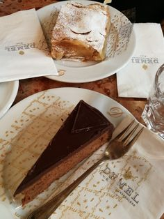 We spent a few delicious hours in Vienna, Austria, including a stop at the iconic Demel Bakery for a Strudel and Sachertorte. Travel Trip, Adventure Travel, Travel Destinations, Nature Photography, Travel Photography, The Catacombs, Beautiful Photos Of Nature, Cat City, Walking Routes
