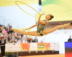 Dina Averina (Russia) won silver in all-around at European Championships 2018