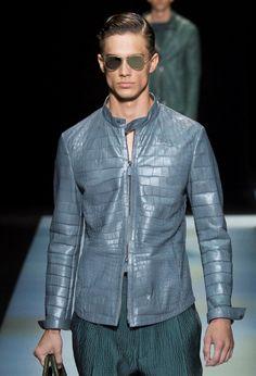 Giorgio Armani S/S 2016 Menswear Milan Fashion Week