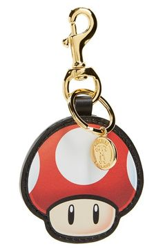Moschino 'Super Moschino' Mushroom Bag Charm available at #Nordstrom