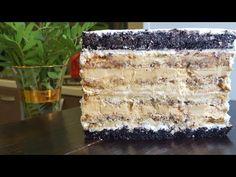 YouTube Yams, Cake Tutorial, Themed Cakes, Cake Cookies, Vanilla Cake, Sweet Recipes, Tiramisu, Food And Drink, Yummy Food