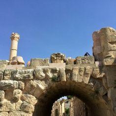 Jerash ruinas de Jordania - una vez una gran ciudad romana14