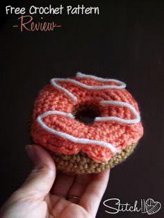 Free Donut Crochet Pattern - Stitch11 Review - Stitch11