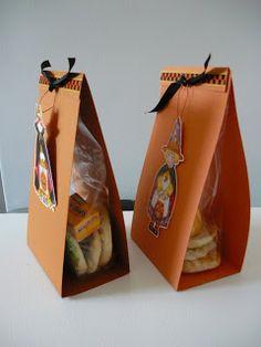 Wrapping edible treats
