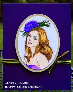 Fitztown Challenge Blog: Winner: Challenge #42 - Anything Goes, TOP 3 Alycia Clark using Cameo 1 from Fitztown.com, visit Alycia's personal blog for details: http://happychickdesigns.blogspot.com/2014/07/isnt-she-lovely-sacc64.html