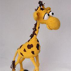 Geoffrey the giraffe amigurumi pattern by IlDikko