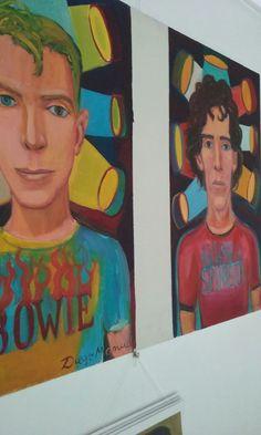 """""""Retratos"""" exposición de pinturas en el Showroom del Taller de Diego Manuel Rodríguez. Noviembre de 2017"""