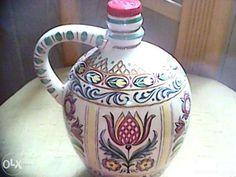 Karafka ceramika Berlin lata 50 OSET+edzcja Kutno - image 1