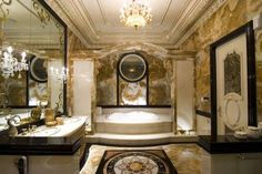 Opravdu luxusní koupelny