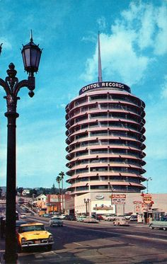 Capitol Records Building, Los Angeles, USA, 1955-56