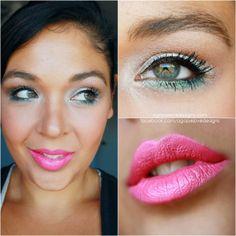 Green eyes, Pink Lips!