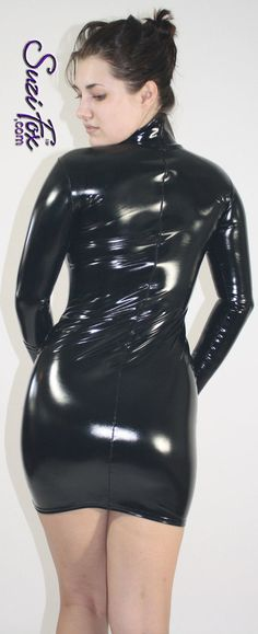 American apparel turtleneck maxi dress