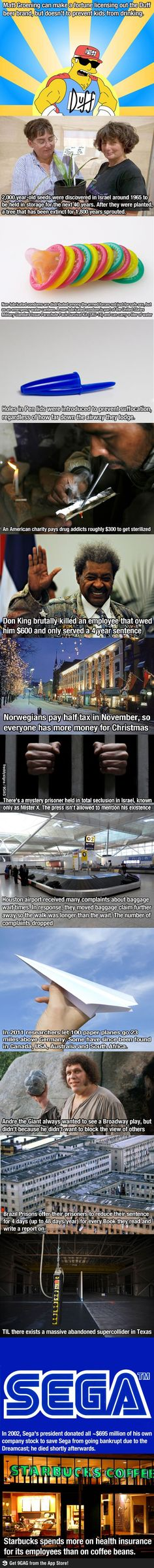 15 interesting facts  Prisoner x is dead though.