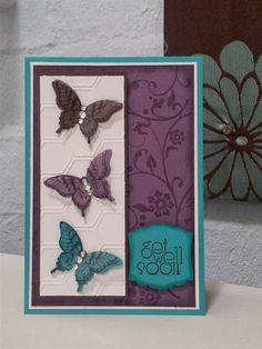 Chlo's Craft Closet - Stampin' Up! Demonstrator: Inspiration comes from the Strangest of Places - Get Well Soon
