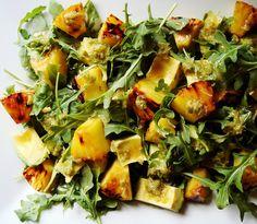 Cuban Avocado, Arugula, Pineapple Salad by ComeUndone, via Flickr