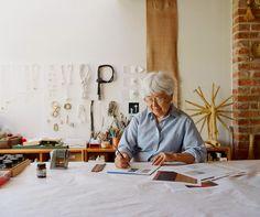 Kay Sekimachi, fiber artist. Photo by Leslie Williamson