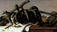 Plátanos y bananas (1893) Francisco Oller