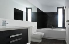 Detalle interior #baños. #Viviendamodular #Addomo #madera #arquitectura #diseno #modular addomo.es