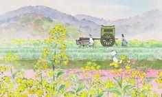 El cuento de la princesa Kaguya en el Cine de los martes de Avilés