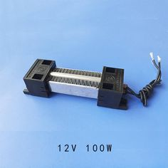 [Visit to Buy] ceramic heater Thermostatic PTC Electric Heater Parts AC DC 12V 100W #Advertisement