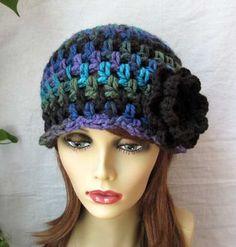 Gorros Tejidos A Crochet Para Jovenes - BsF 325,00