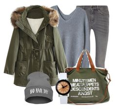 """""""Winter day"""" by myfriendshop ❤ liked on Polyvore featuring MiH Jeans, WithChic, women's clothing, women's fashion, women, female, woman, misses and juniors"""