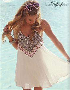 Pretty!! ShopRiffraff's most coveted clothing collection WANDERLUST. Perfect for spring break 2014!