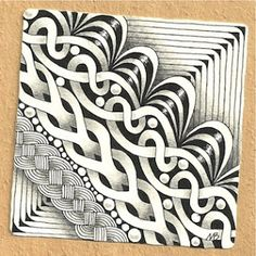 Enthusiastic Artist: SKYE - a new tangle!