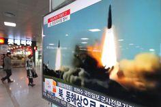 Seoul, South Korea (AP) -- North Korea fired three ballistic missiles off its…