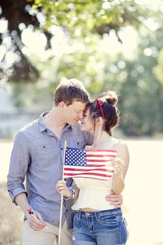 Fourth of July Engagement Shoot