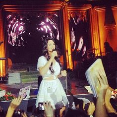 Lana Del Rey in St. Petersburg, Russia #LDR #Paradise_Tour 2013