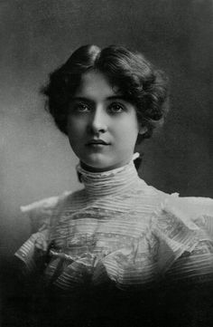 """fashionologyextraordinaire: """" Maude Fealy Edwardian time actress, vintage beauty and fashion icon Saved from: www.pinterest.com """""""