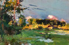 """bofransson: """" KOROVIN, KONSTANTIN (1861–1939) Summer Landscape """""""