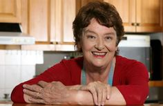 Dame Alison Holst - best known NZ food writer & television chef who has been teaching New Zealanders how to cook for decades