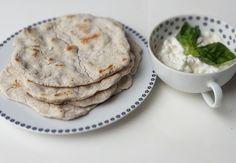 Rychlé pohankové placičky Pancakes, Paleo, Bread, Baking, Breakfast, Recipes, Food, Vegan, Fitness