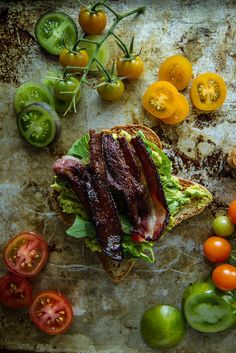 This ~genius~ BLT avocado toast. | 19 Breathtaking Avocado Toasts That Happened In 2015